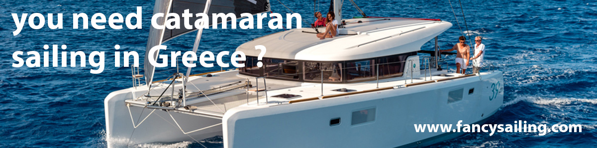 catamarans in Greece